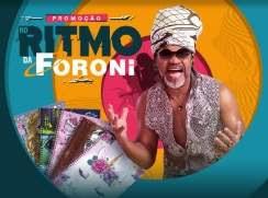 Cadastrar Promoção Foroni Cadernos 2019 - Ritmo Foroni Carlinhos Brown