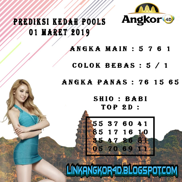 PREDIKSI KEDAH POOLS 01 MARET 2019