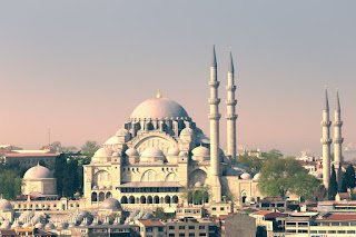 Süleymaniye Mosque; Istanbul, Turkey