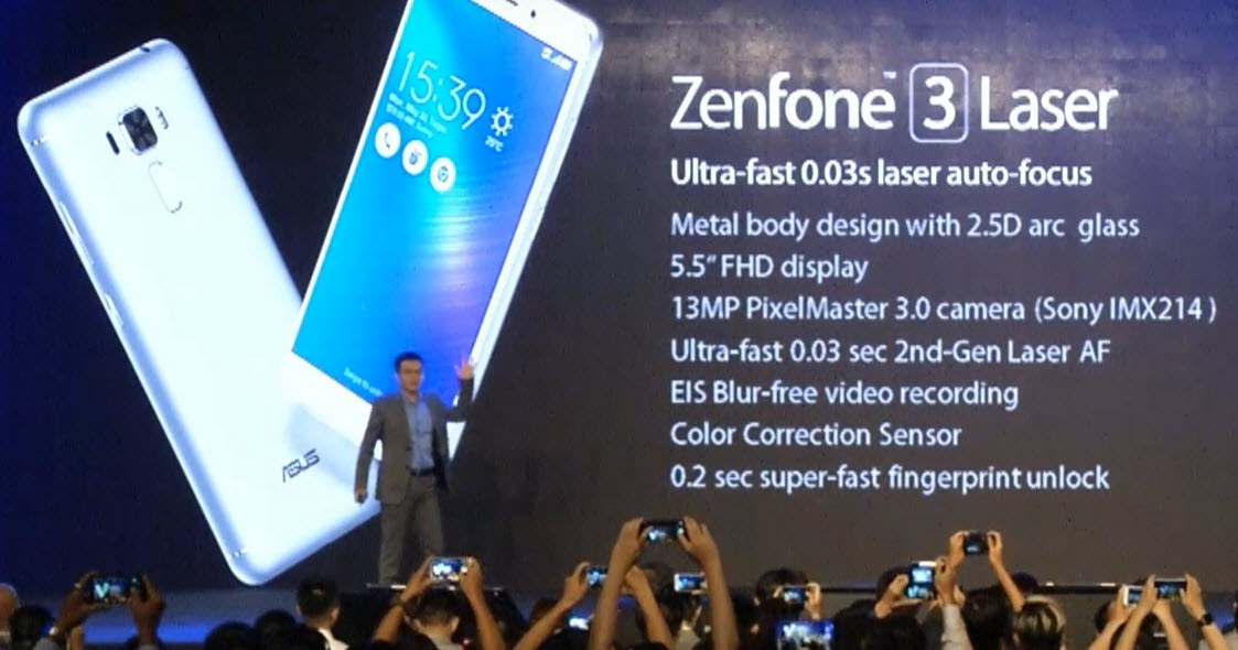 Asus apresenta 2 novos modelos do ZenFone 3