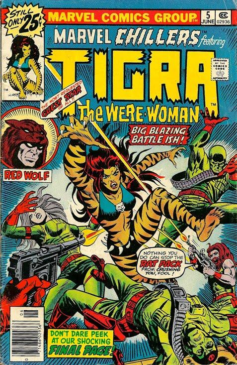 Marvel Tigra Son Kerry Callen...