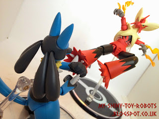 Lucario vs Mega Blaziken part 1