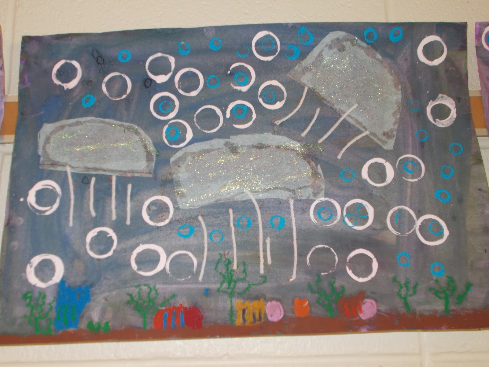 Mrs Pierce S Polka Dot Spot Jelly Fish Paintings