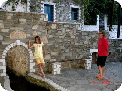 Panagia - un sat pitoresc in Thassos