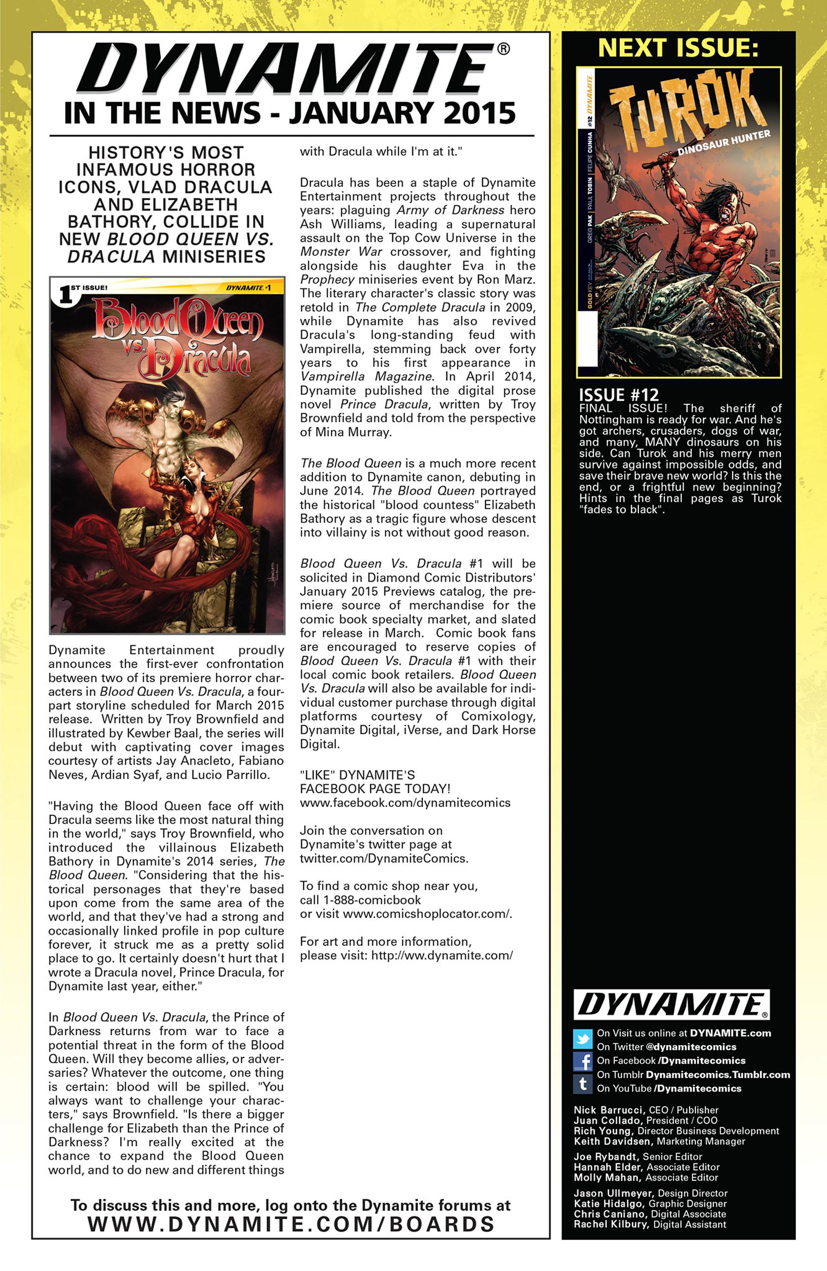 Read online Turok: Dinosaur Hunter (2014) comic -  Issue #11 - 23