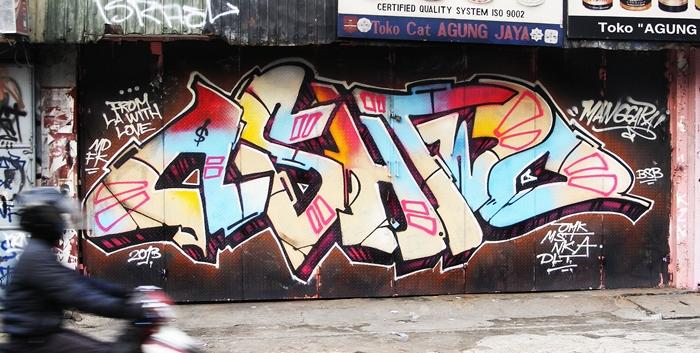 ashtwo graffiti jakarta indonesia