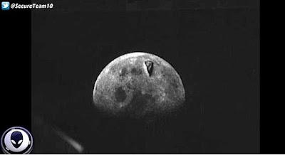 Foto rara de Apollo 8 revela suposto ovni na superfície da lua