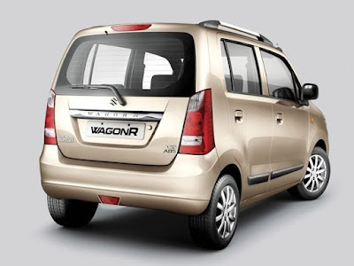 Maruti Suzuki Wagon R Gold Rear Look