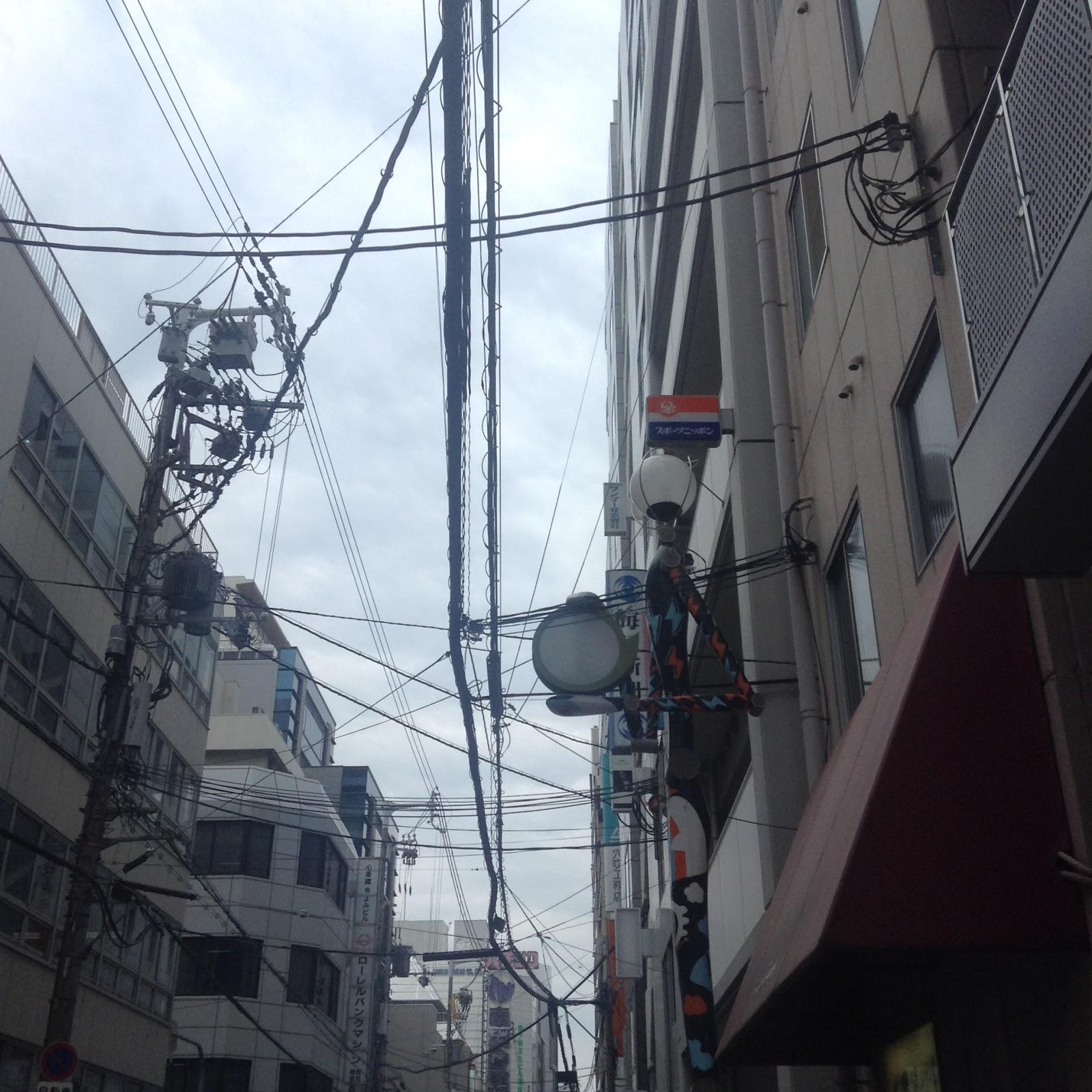 Amemura Osaka Japanese streets