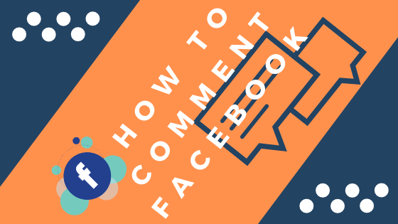 How To Comment Facebook