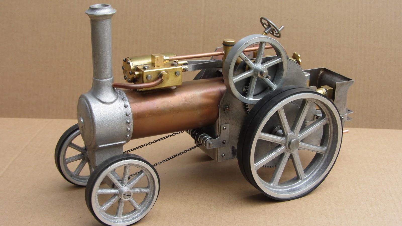 Building A Vertical Steam Engine