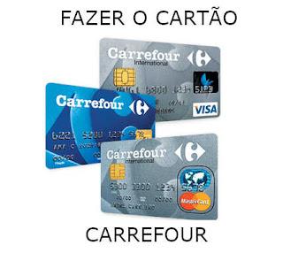 FAÇA O CARTÃO CARREFOUR