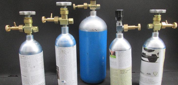 Bình CO2 loại phổ thông cho hồ thủy sinh