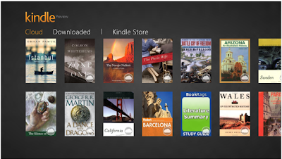 kindle Windows 8 metro apps