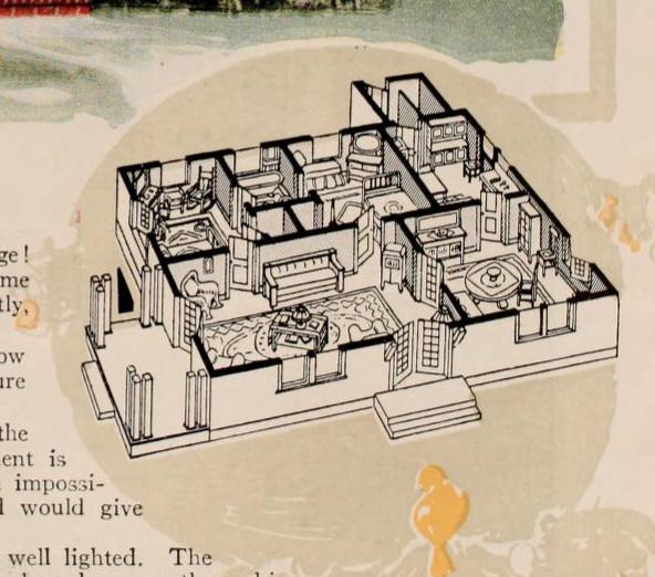 aladdin pasadena 1920 catalog floor plan B