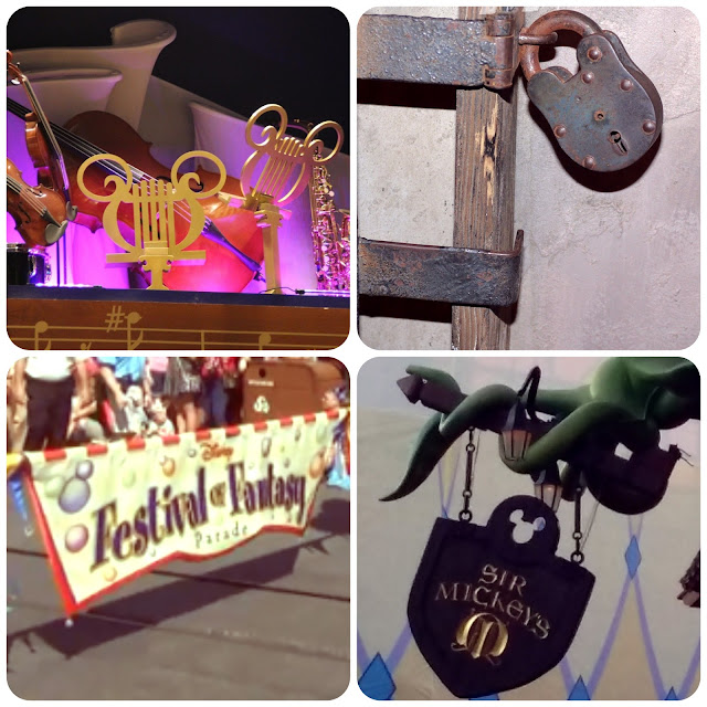 Hidden Mickeys no Magic Kingdom