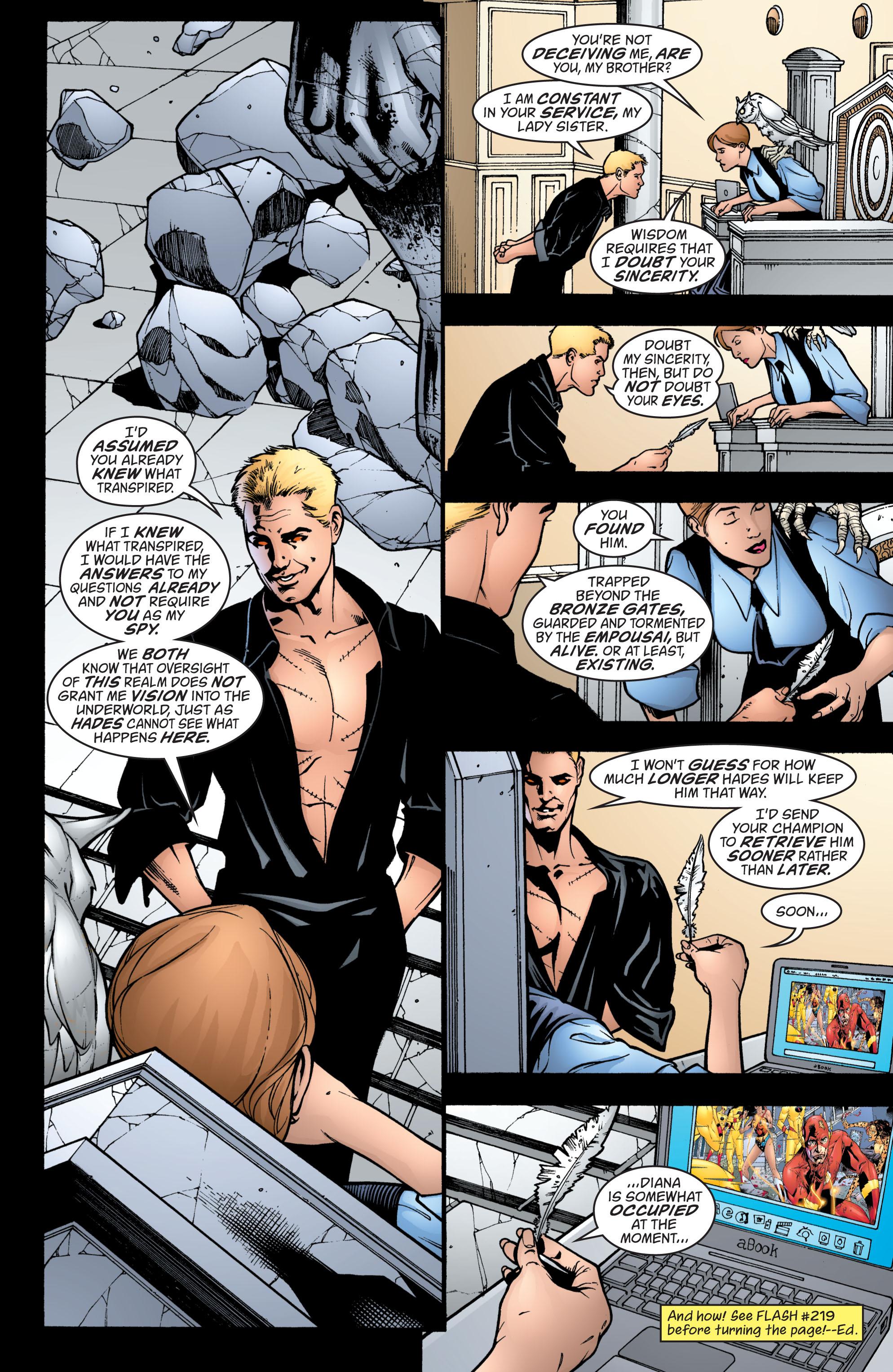 Read online Wonder Woman (1987) comic -  Issue #214 - 4