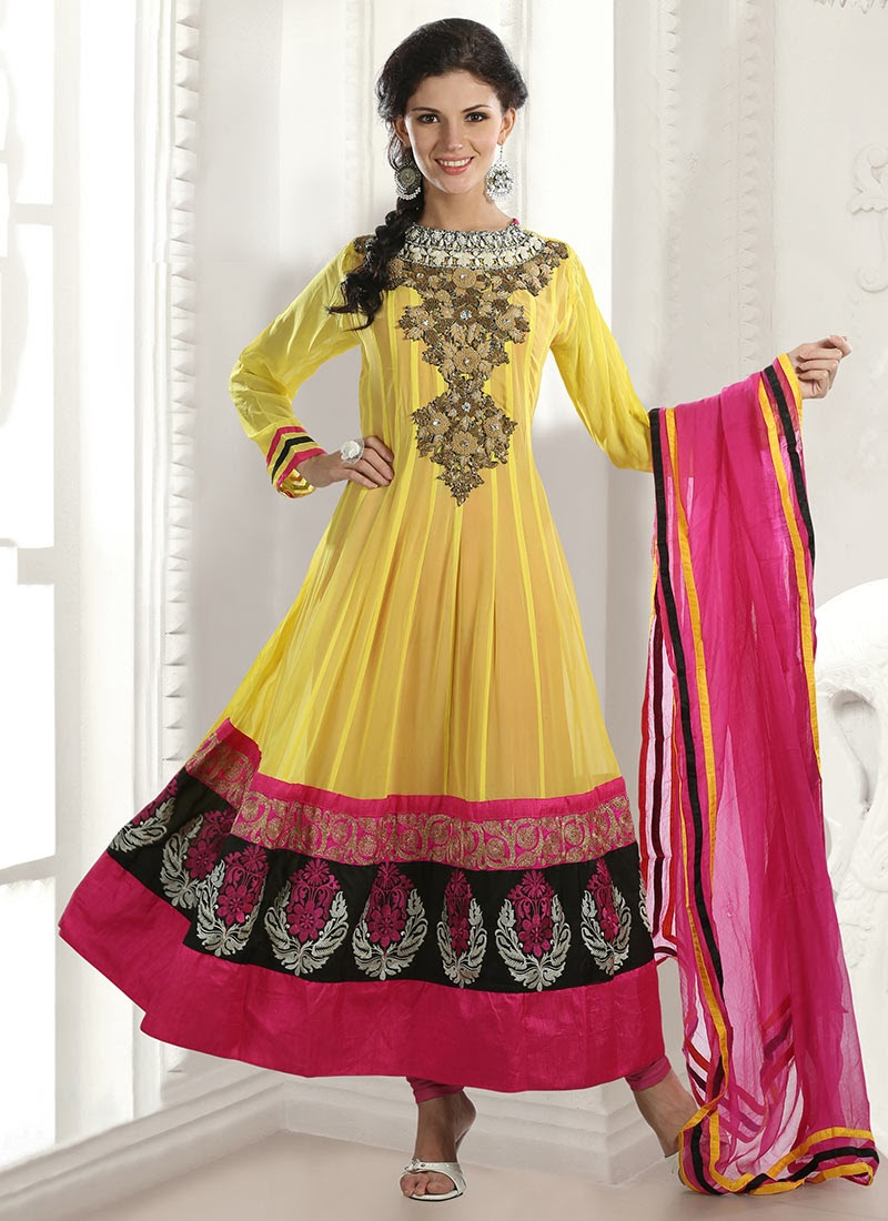 Cool Letest Designer Womens Anarkali Dress Imagephoto U0026 Pictures | Latest Man And Women Fashion Wear