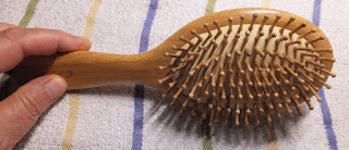 Cristalbox Hair Brush, Best Natural Wooden Paddle Brush for All Hair Types. Scalp Massage, Bamboo Bristle, 9 Inch