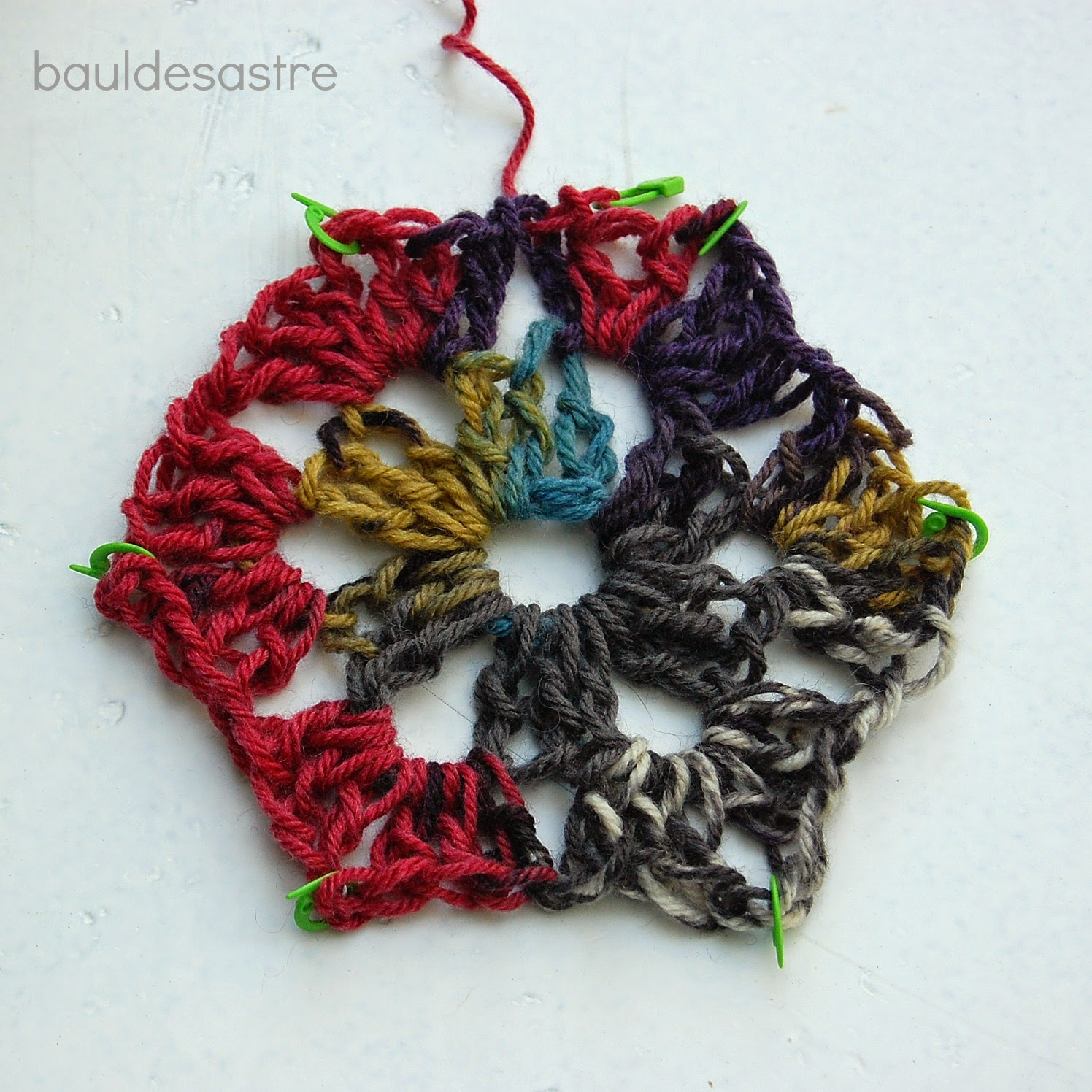 Granny Hexagonal a crochet