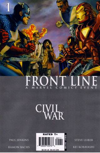 Civil War: Front Line #1 PDF