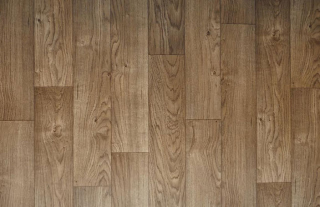 Faux Armstrong Laminate Wood Floor
