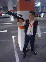 Han Solo cosplay, costume