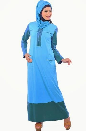 Desain Busana Muslim Kantor Anggun