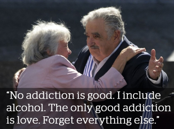 Uruguayan Jose Mujica on addictions and love