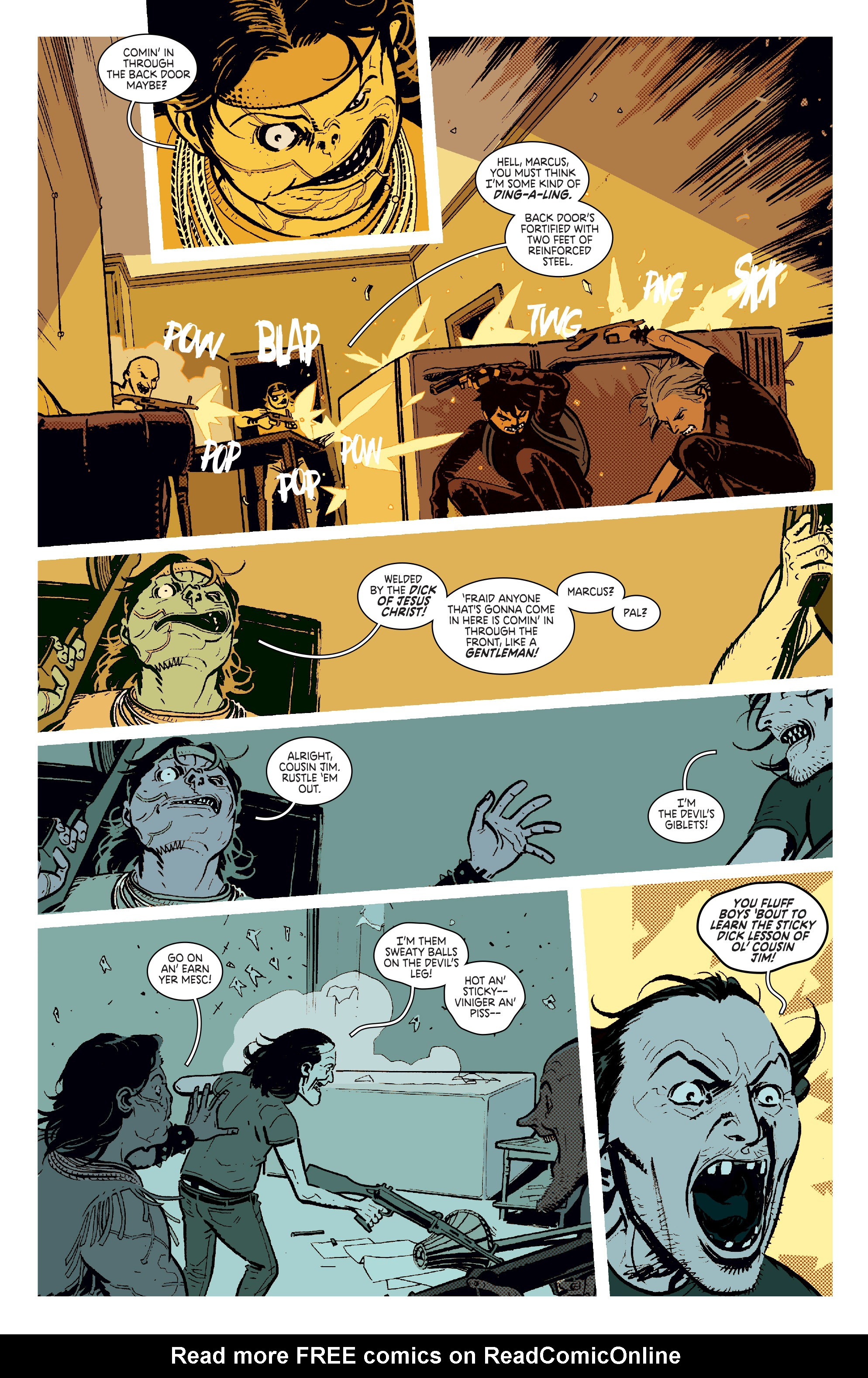 Read online Deadly Class comic -  Issue #11 - 5