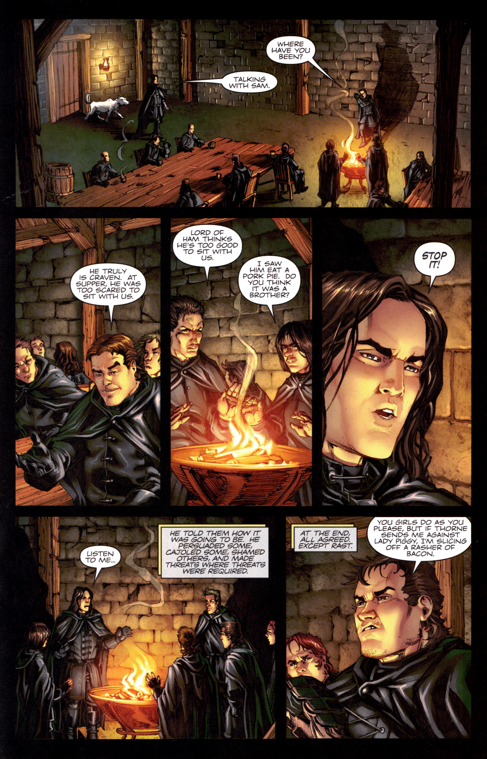 Read online A Game Of Thrones comic -  Issue #8 - 21
