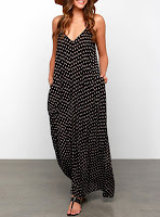 https://www.dresshead.com/maxi-dress-black-white-polka-dots-v-neck-sleeveless-loose-fit/