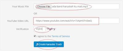 Cara Membuat Lagu Karaoke Online Tanpa Software