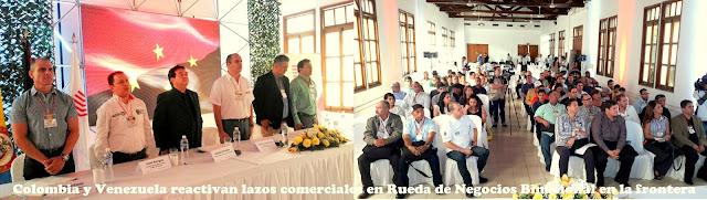 Gobernación de Norte de Santander-Colombia apoya rueda de negocios binacional #RSY #OngCF