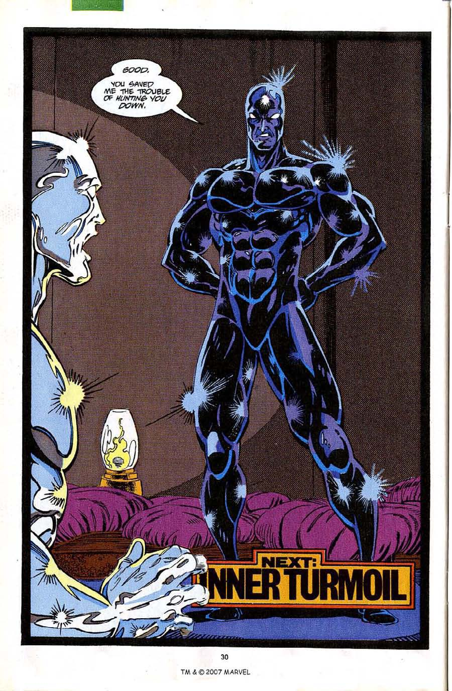 Read online Silver Surfer (1987) comic -  Issue #63 - 32