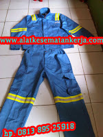 model Baju celana Fire retardant cotton 100%