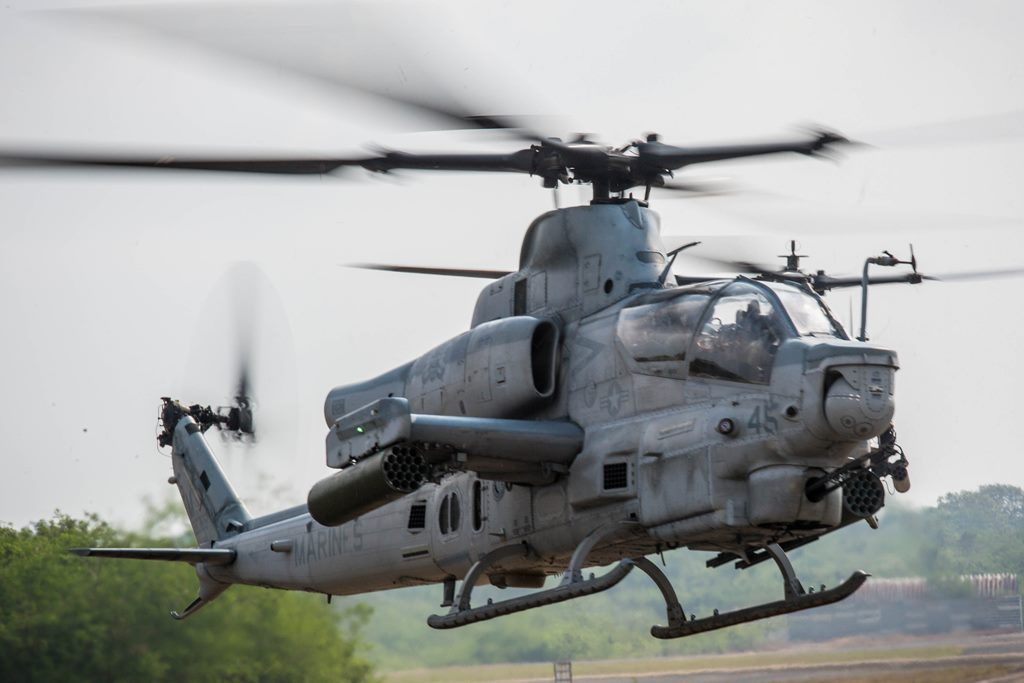 US MARINE AIRCRAFT ARRIVE IN THAILAND FOR COBRA GOLD 18