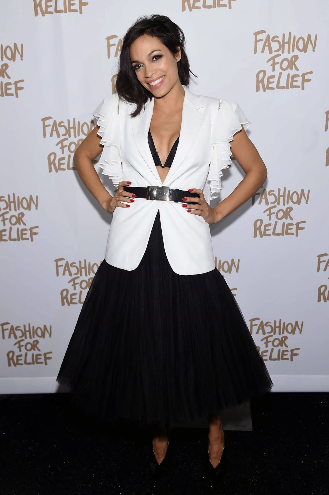 Naomi Campbell's Fashion for Relief Charity Fashion Show in NYC