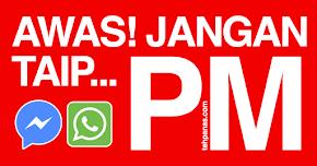 Thumbnail image for Taip 'PM Jika Berminat', Anda Akan Dipenjara & Didenda