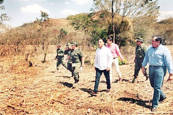 Pide Velasco que Congreso le autorice préstamo por 125 mdp para nuevo cuartel militar