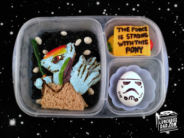 my little pony star wars bento kids lunch