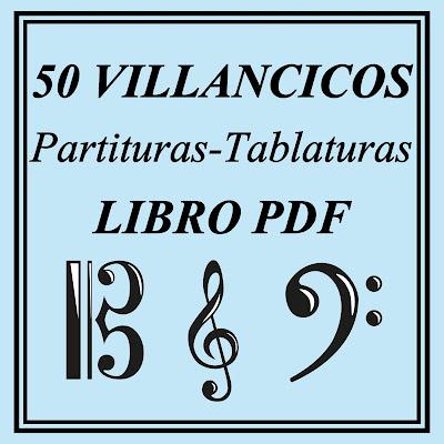 50 Partituras de Villancicos Libro PDF