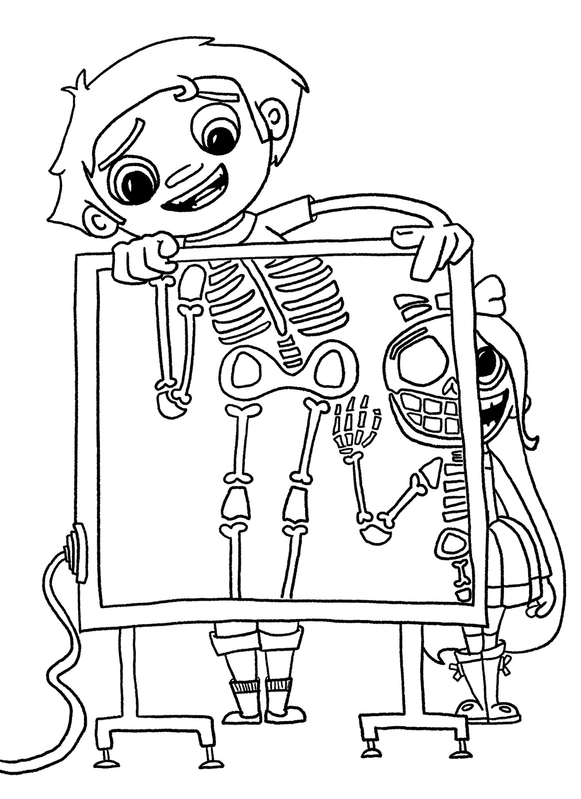 coloring pages x ray - radiology coloring pages coloring pages
