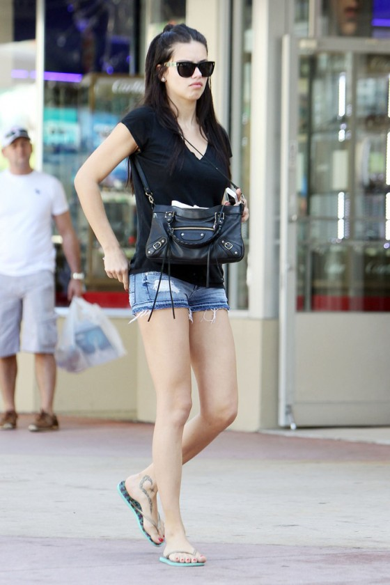 Adriana Lima Street Style 2013 Fashion Eye