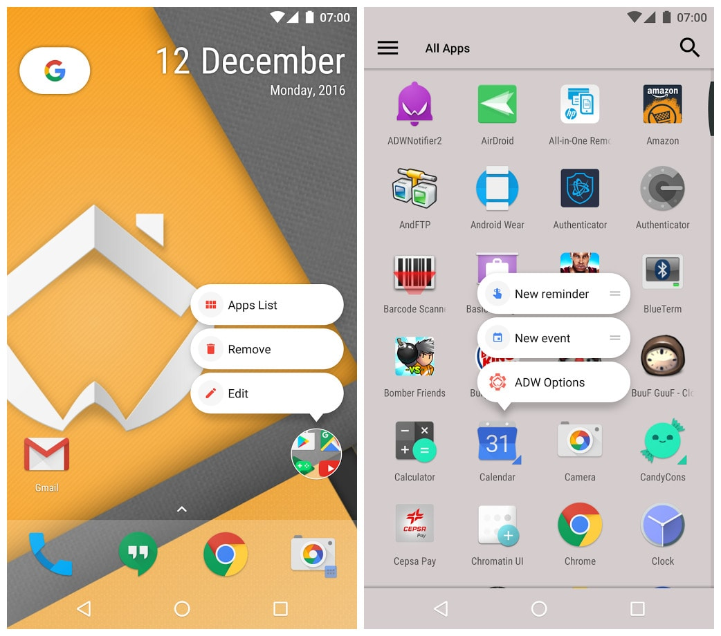 Image result for ADW Launcher 2
