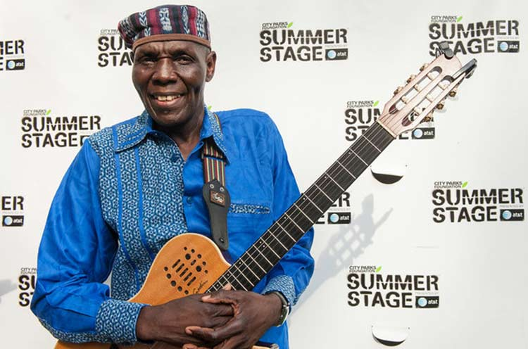 Oliver Mtukudzi at Billboard Awards