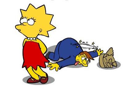 Lisa Simpson Saw Game 1001 Juegos