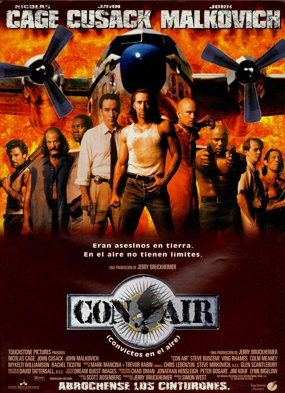 فیلم دوبله: هواپیمای محکومین (1997) Con Air
