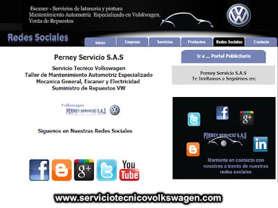 Servicio Tecnico Volkswagen - Perney Servicio SAS Bogota