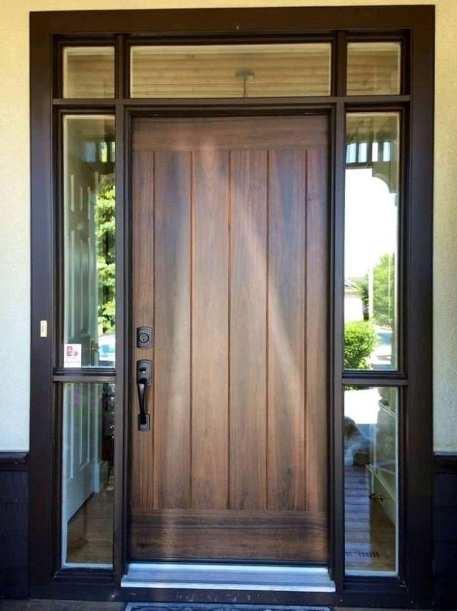 contoh pintu rumah modern